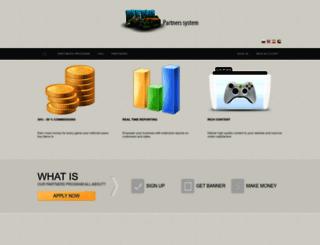 partners.menasoftware.com screenshot