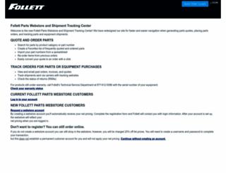 parts.follettice.com screenshot