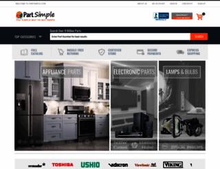 partsimple.com screenshot