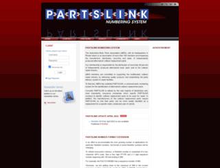 partslink.org screenshot