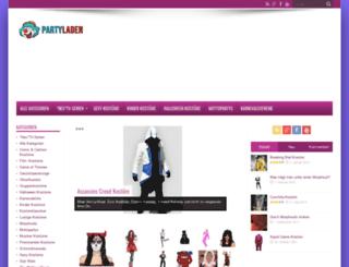 party-laden.de screenshot