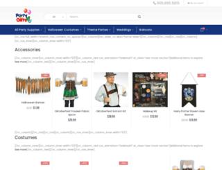 partyandgifts4u.com screenshot