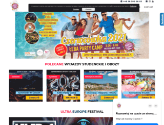 partycamp.pl screenshot