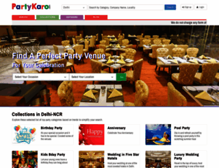 partykaro.com screenshot