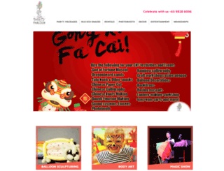 partyparlorsg.com screenshot