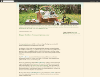 partypicnic.blogspot.com screenshot