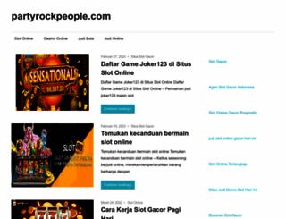 partyrockpeople.com screenshot