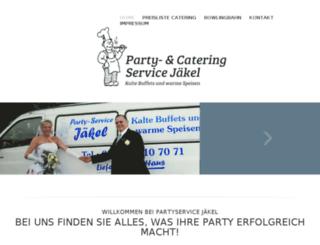 partyservice-jaekel.de screenshot