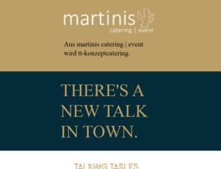 partyservice-martini.de screenshot