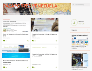 pasaportesdevenezuela.blogspot.com screenshot