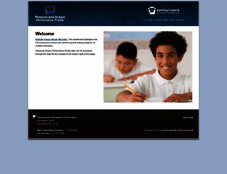 paschoolperformance.org screenshot