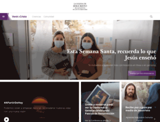 pascua.mormon.org screenshot