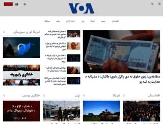 pashtovoa.com screenshot