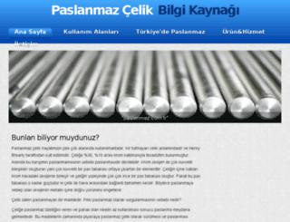 paslanmaz.com.tr screenshot