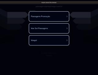 passagensaereasmega.com.br screenshot