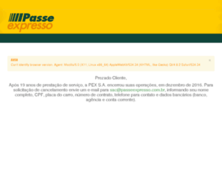 passeexpresso.com.br screenshot