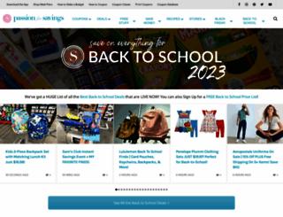 passionforsavings.com screenshot