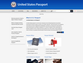 passport-application.org screenshot