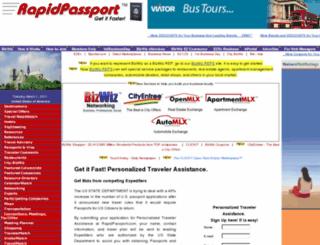 passports.bizwiz.com screenshot