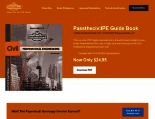 passthecivilpe.com screenshot