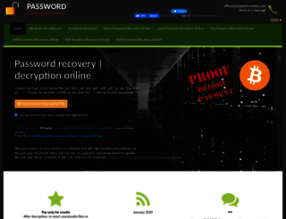 password-online.com screenshot
