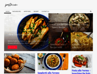 pasta.com screenshot