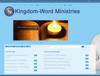 pastorbankie.org screenshot