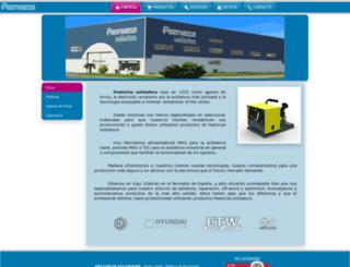 pastorizasoldadura.com screenshot
