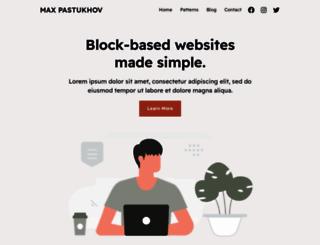 pastukhov.com screenshot