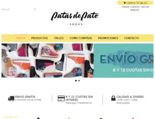 patadepato.tiendanube.com screenshot