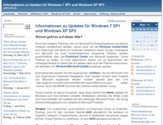 patch-info.de screenshot