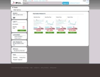 patent.ipexl.com screenshot
