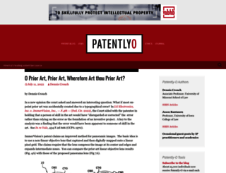 patentlyo.com screenshot
