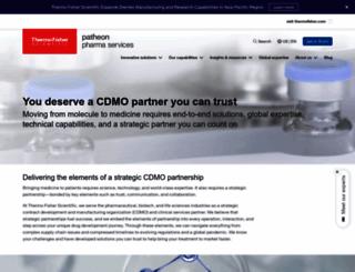 patheon.com screenshot