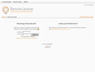 pathfinder.remote-learner.net screenshot