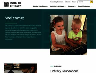 pathstoliteracy.org screenshot