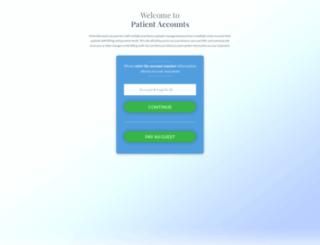 patientaccounts.net screenshot