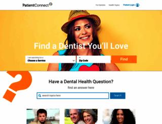 patientconnect365.com screenshot