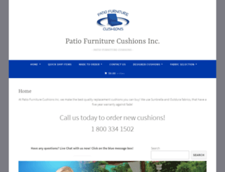 patio-furniture-cushions.com screenshot