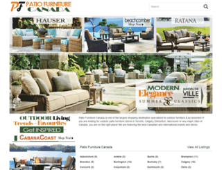 patiofurniture-canada.ca screenshot