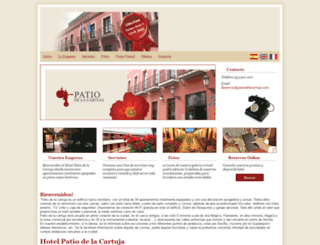 patiosdesevilla.net screenshot