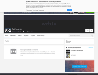 patisevenler.web.tv screenshot