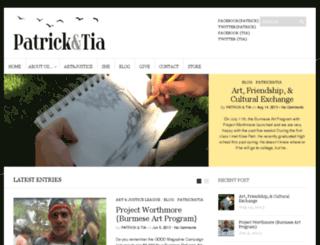 patrickandtia.com screenshot