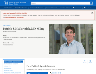 patrickmd.net screenshot