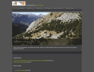 patrimages.regionpaca.fr screenshot