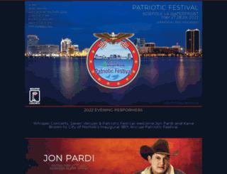 patrioticfestival.com screenshot