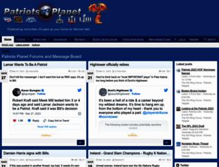 patriotsplanet.com screenshot