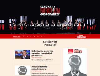 patriotyzm.pb.pl screenshot
