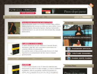 patriziaferrante.com screenshot