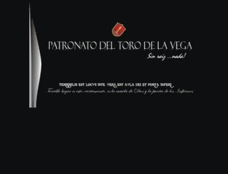patronatodeltorodelavega.com screenshot